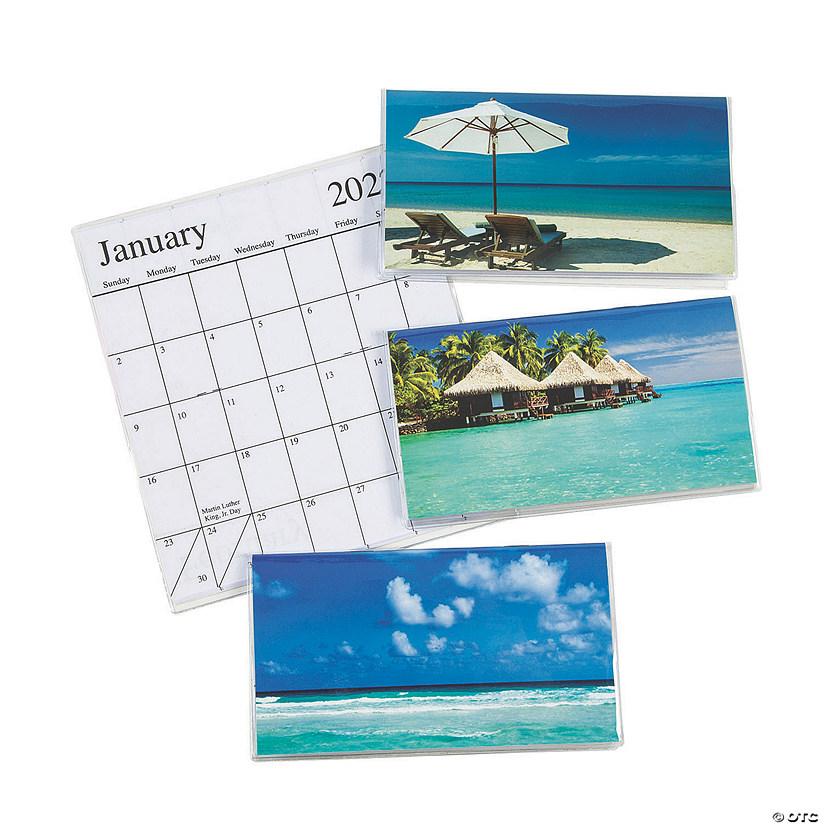 2022 Pocket Calendar.2021 2022 Tropical Pocket Calendars Oriental Trading