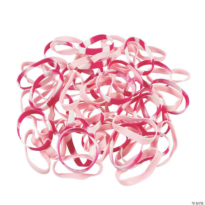 Bulk Pink Ribbon Bracelet Ortment