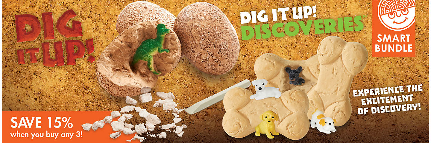 Dig It Up! Buy Any 3 Save 20%