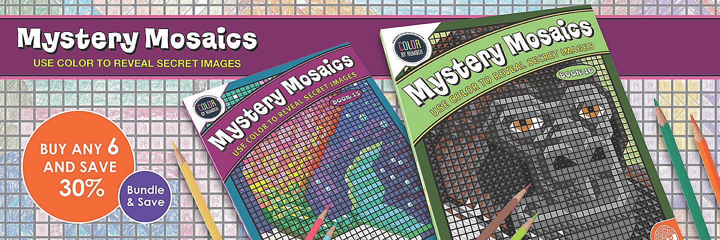 Mystery Mosaics Buy Any 6 Save 30%