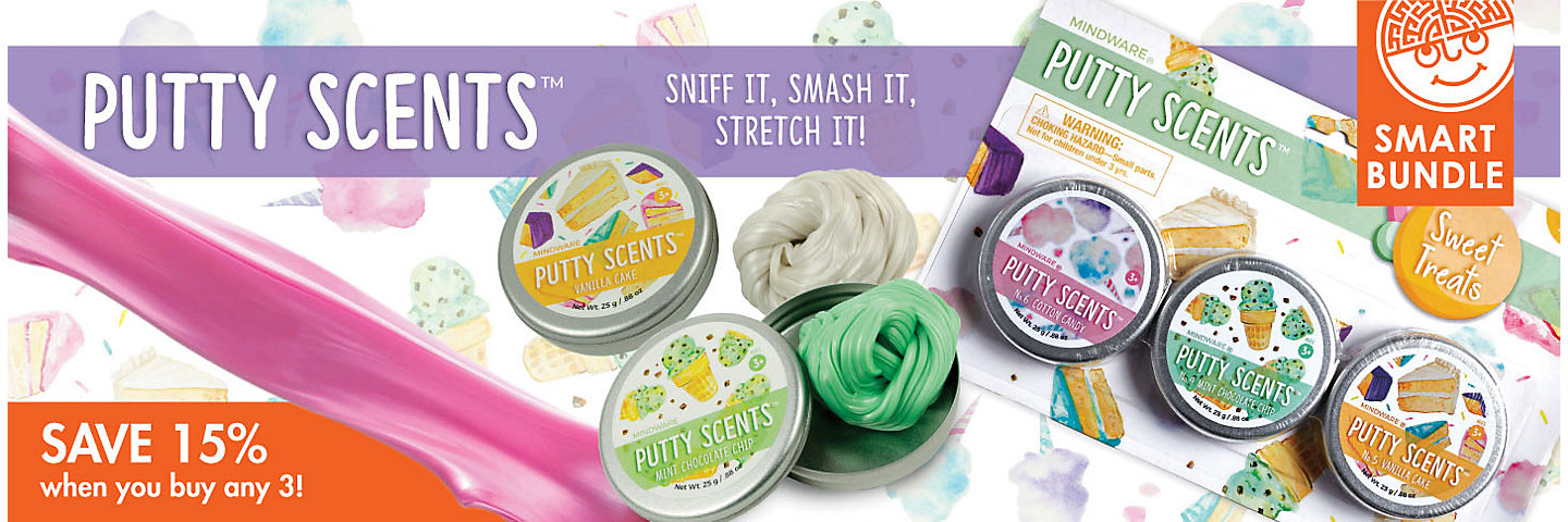 Putty Scents Buy Any 3 Save 20%