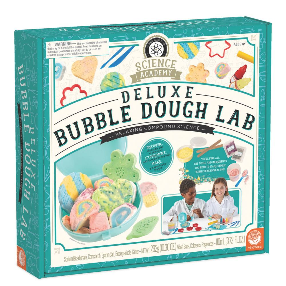 Science Academy: Deluxe Bubble Dough Lab From MindWare