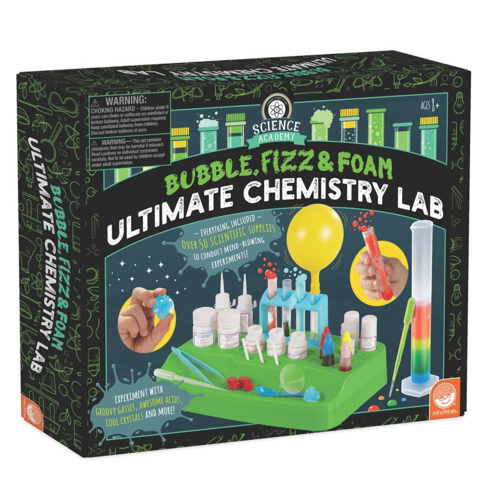 Science Academy Ultimate Chemistry Lab From MindWare