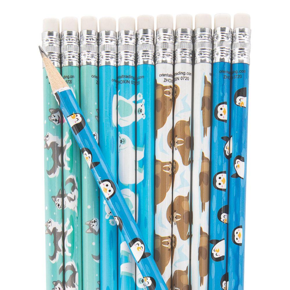 Winter Animals Pencils From MindWare
