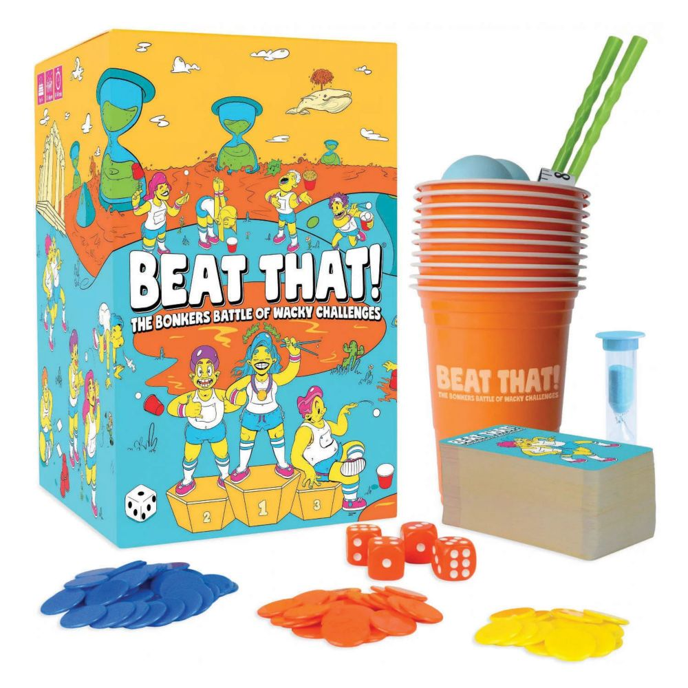 Beat That! Wacky Challenges Game From MindWare