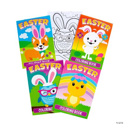 Easter Coloring Book Assortment Oriental Trading