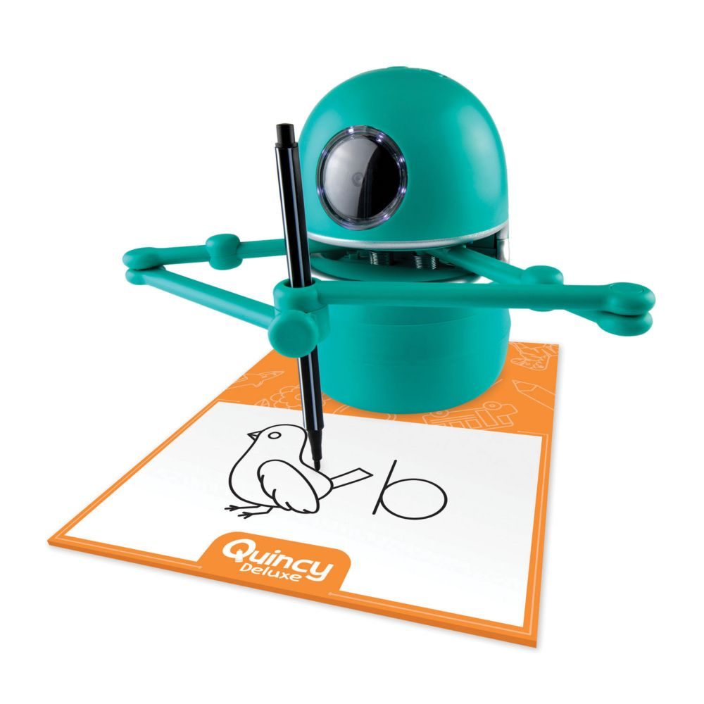 Quincy Deluxe Learning Robot From MindWare