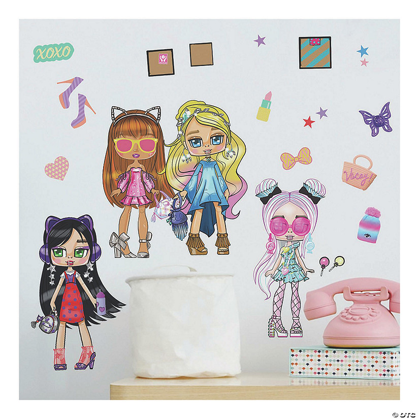 Boxy Girls Peel And Stick Wall Decals Oriental Trading