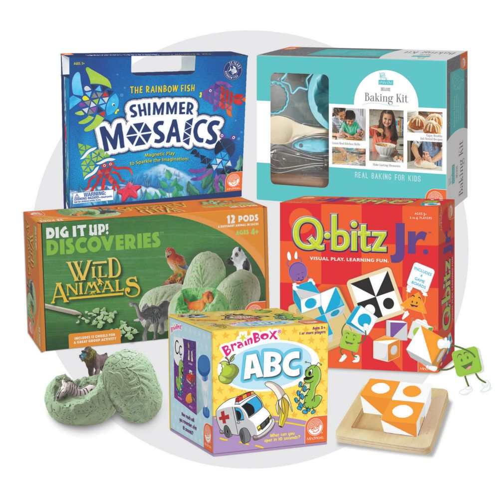 Brainy Bundle for Ages 4-5 From MindWare