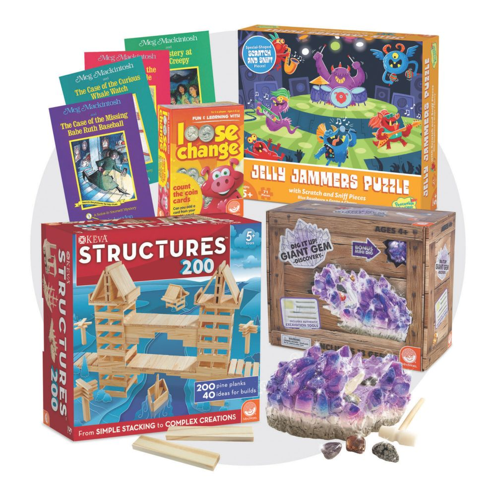 Brainy Bundle for Ages 6-7 From MindWare