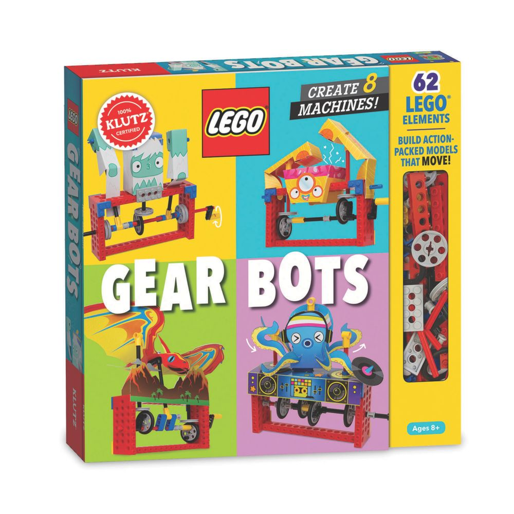 LEGO Gear Bots From MindWare