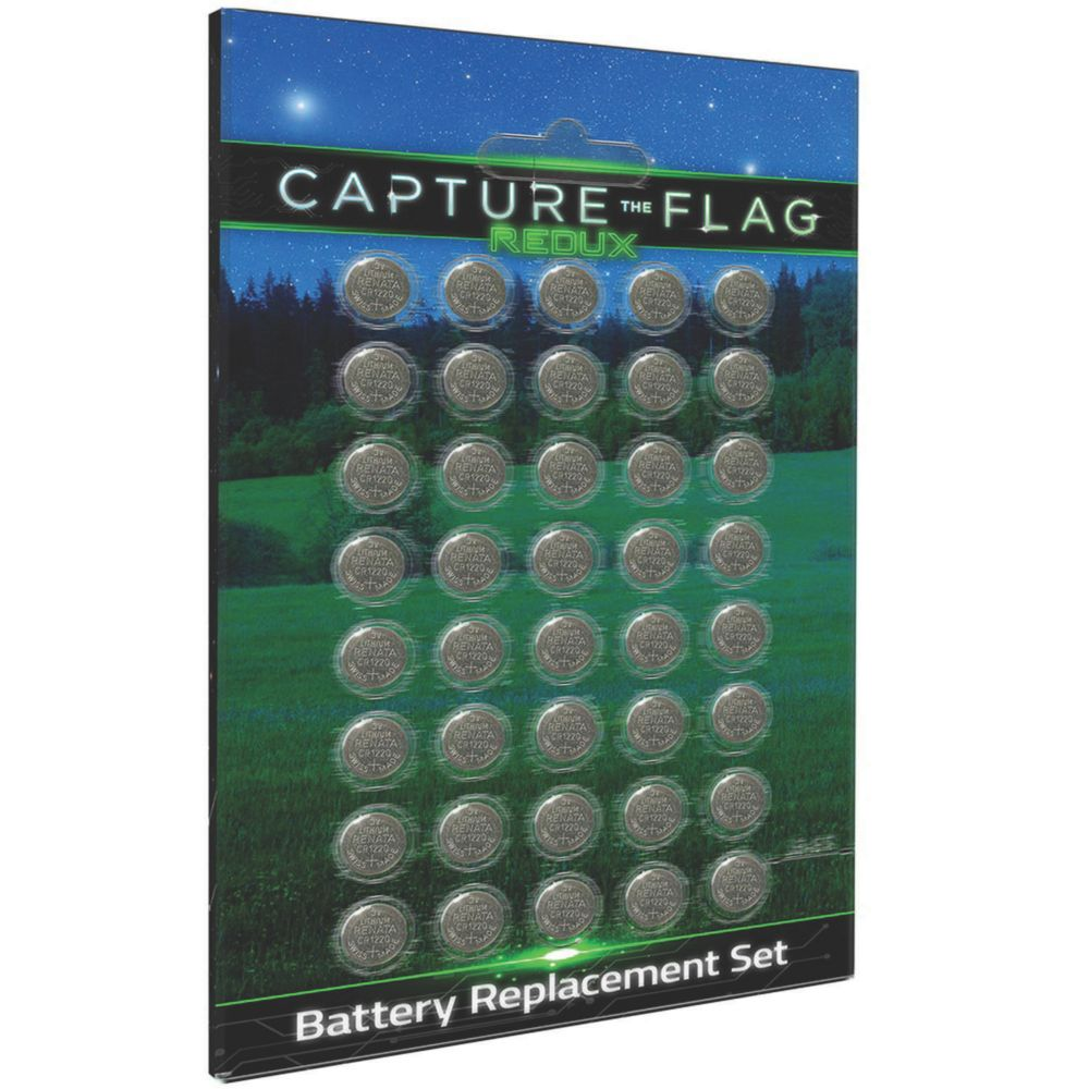 Capture the Flag Battery Replacement Set From MindWare