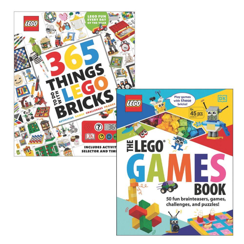 LEGO Awesome Activity Books: Set of 2 From MindWare
