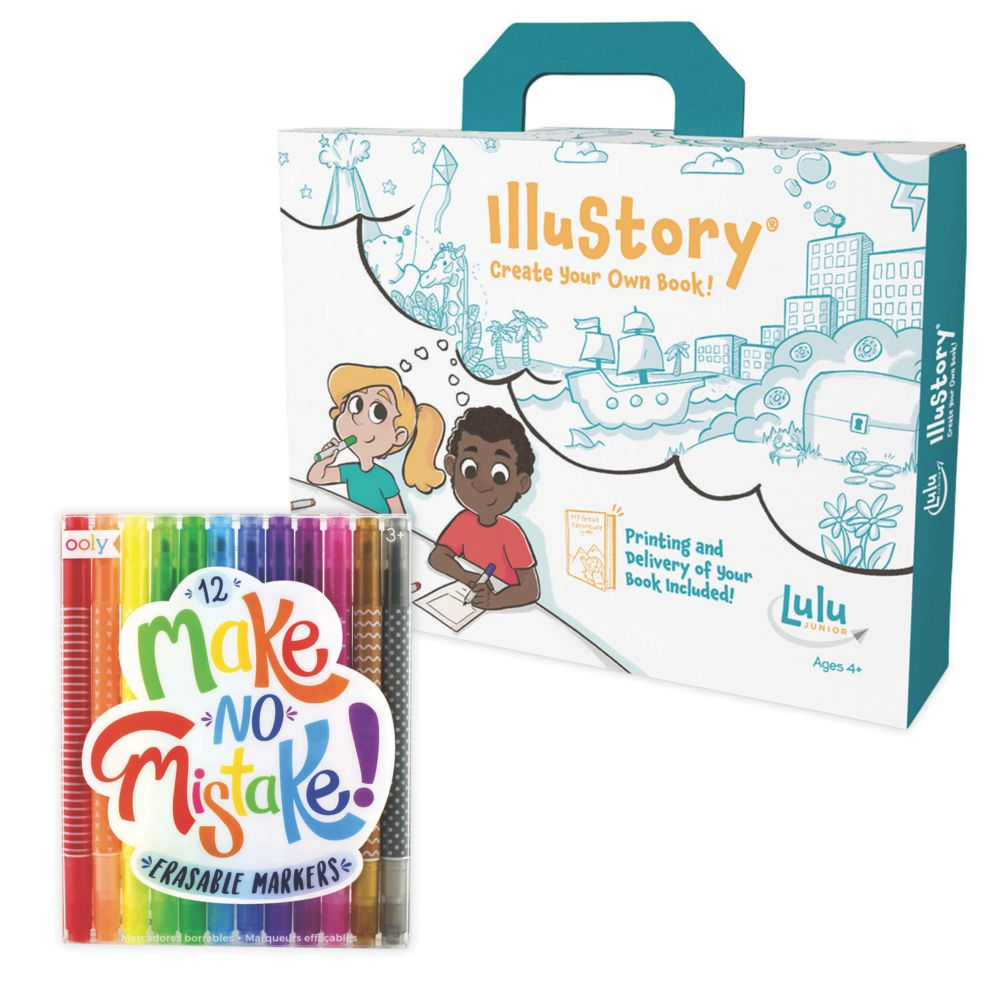 Illustory and Erasable Markers Set of 2 From MindWare