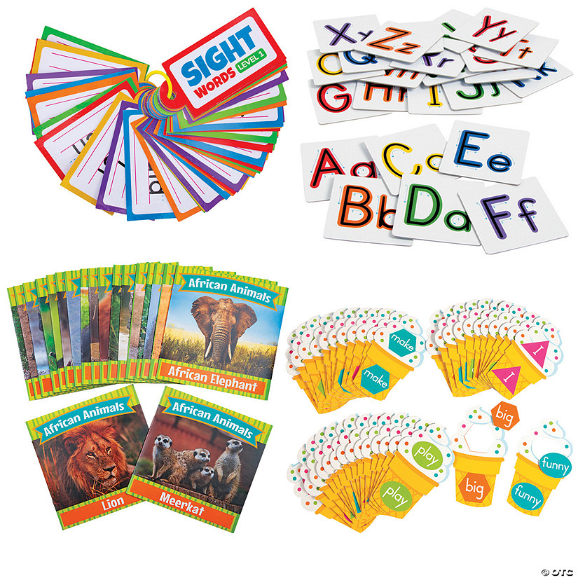 Preschool Language Arts Learning Kit | Oriental Trading