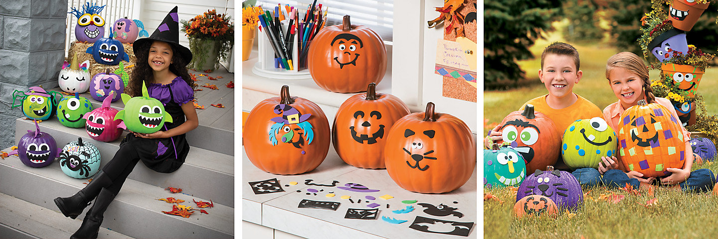 Pumpkin Decorating Party Supplies
