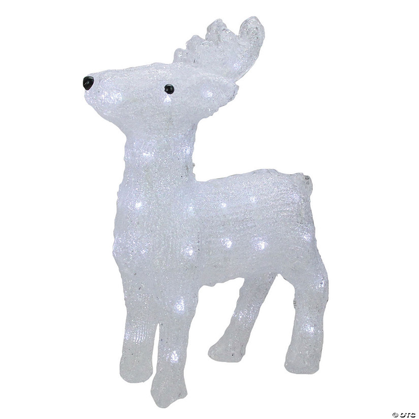 Northlight 15 Lighted Commercial Grade Acrylic Baby Reindeer Christmas Display Decoration