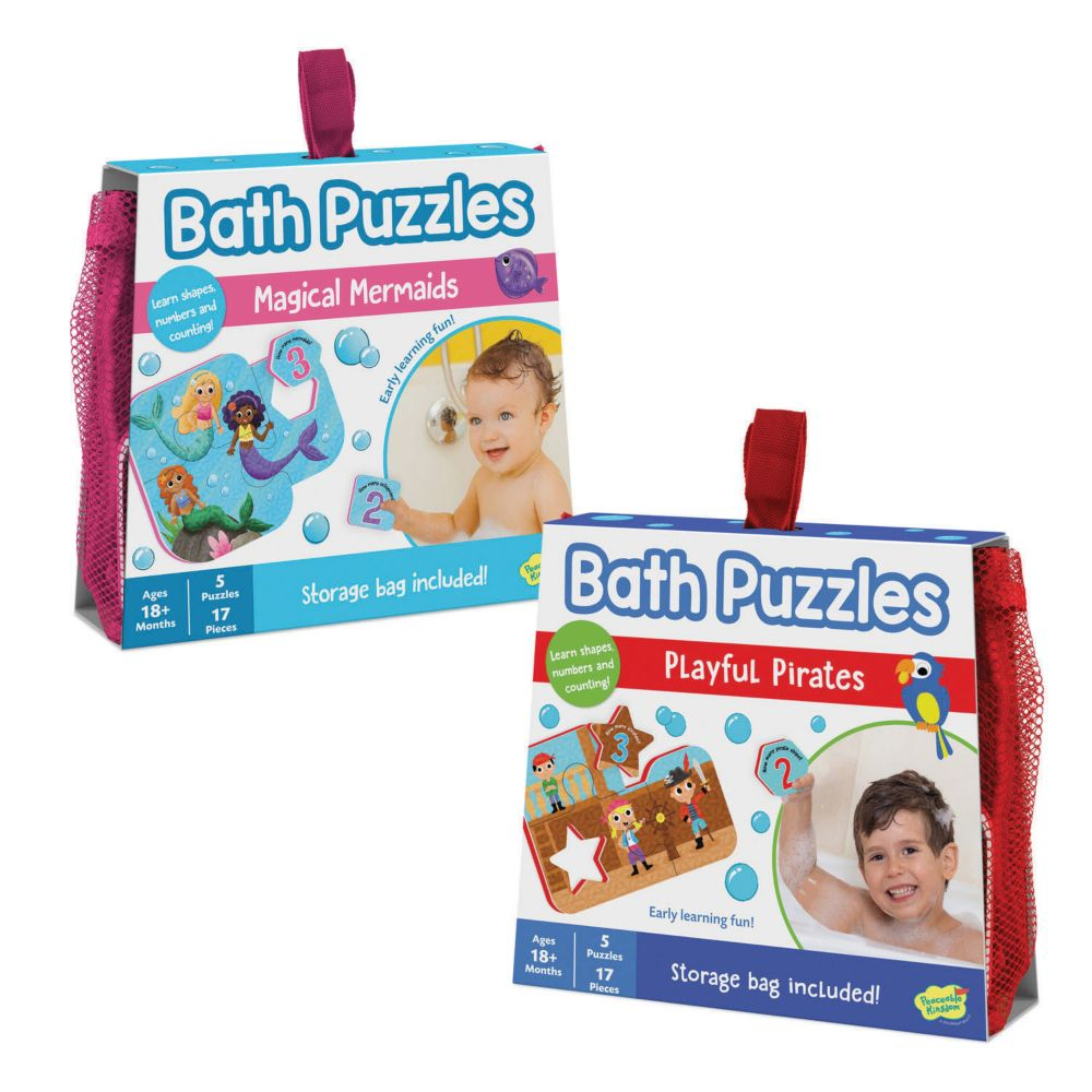 Bath Puzzles: Set of 2 From MindWare