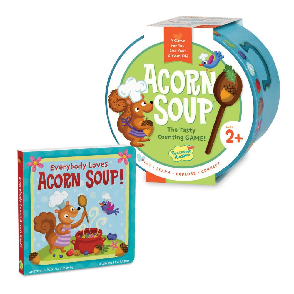 Acorn Soup Game & Board Book Set From MindWare