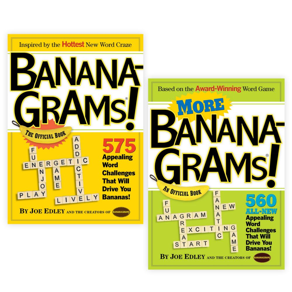 Bananagrams! and More Bananagrams! Set of 2 From MindWare