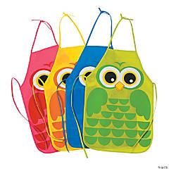 Owl Child's Aprons