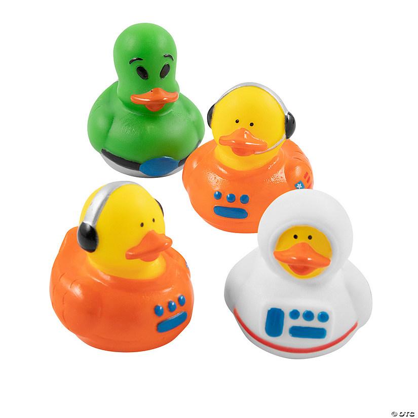 Astronaut Space Alien Rubber Duckies Oriental Trading