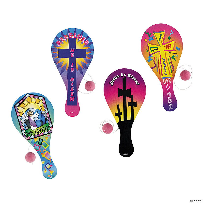 Paddle Ball Racket Game Set Bounce Back Paddle Ball Toy Fun and Classic Paddle Ball Game Table Tennis Racket