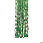 Green Metallic Beaded Necklaces