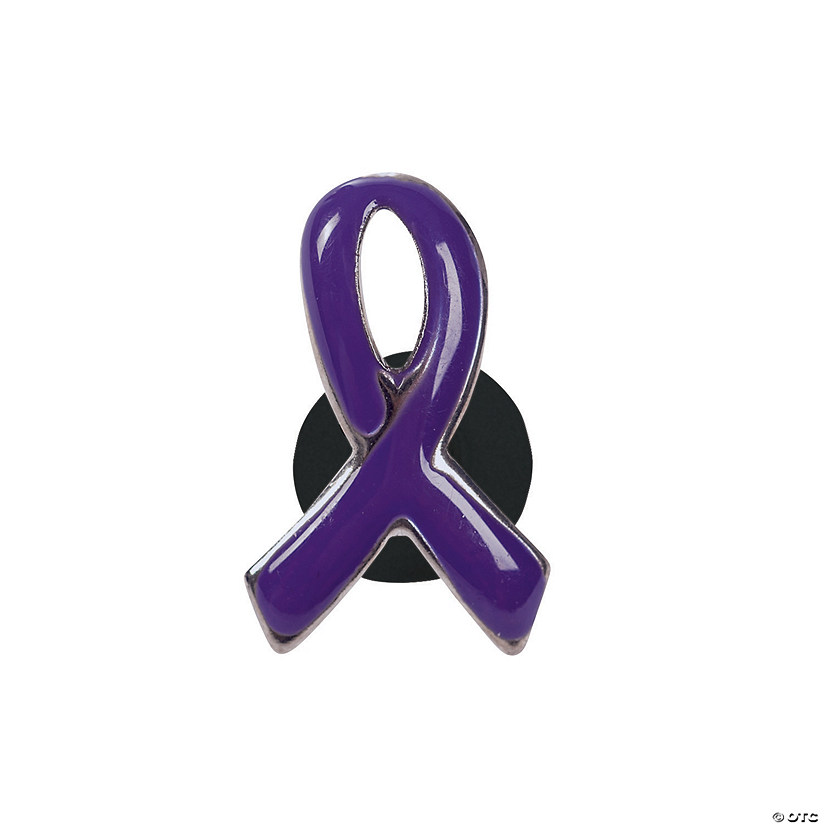 9c3a42f5872 Purple Awareness Ribbon Pins