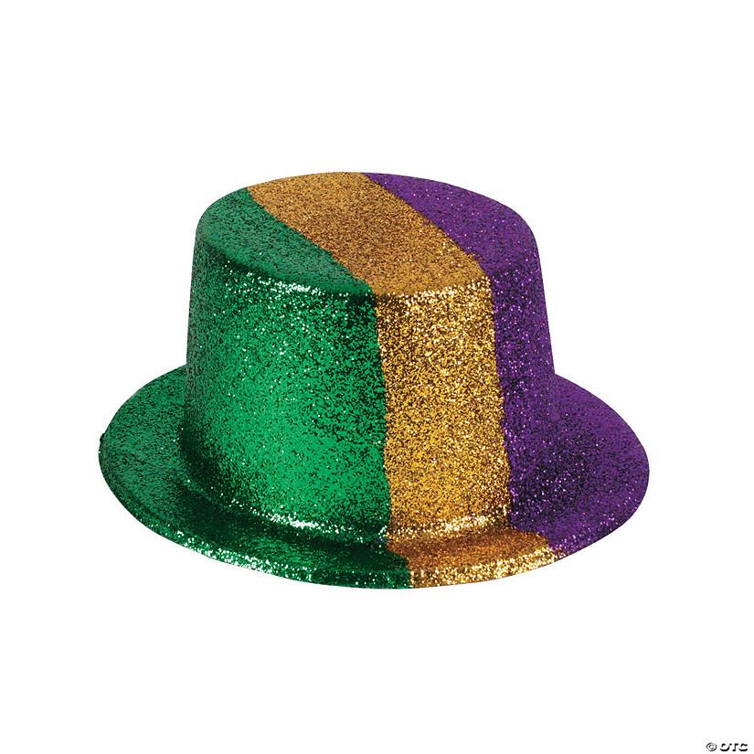 Mardi Gras Glitter Top Hats Oriental Trading