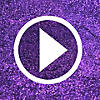 Mardi Gras Glitter Half Masks Video Thumbnail 1