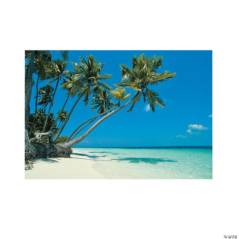 Island Beach Scenes: Tropical Beach Backdrop