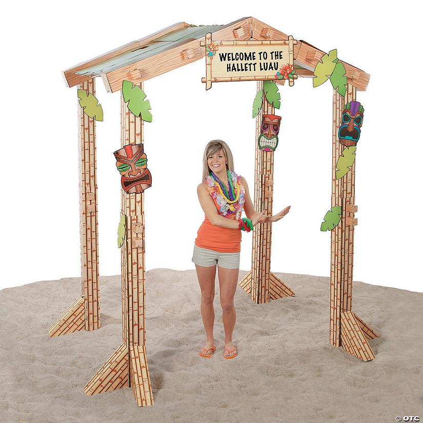 Inspiration Photo Tiki Hut: 3D Tiki Hut Cardboard Stand-Up