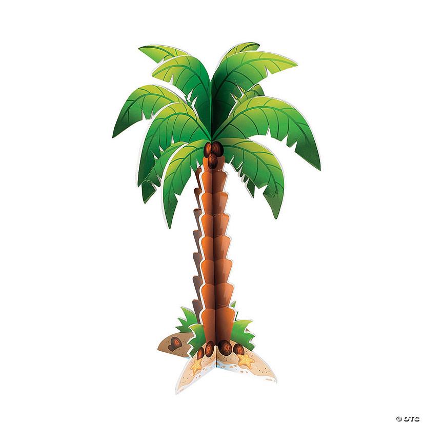 foam palm tree centerpiece oriental trading rh orientaltrading com palm tree centerpiece for sale palm tree centerpieces weddings