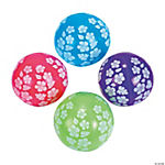 Inflatable 5 Paradise Party Mini Beach Balls