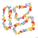 Bright Polyester Flower Leis - 12 Pc.