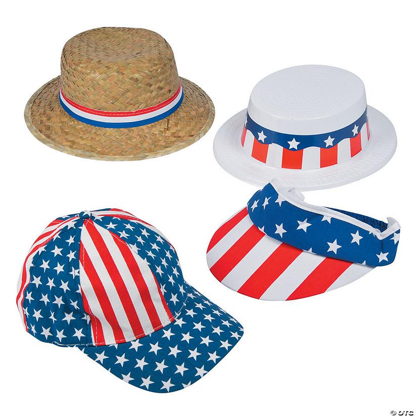 Patriotic Hat Assortment 460185e1618e