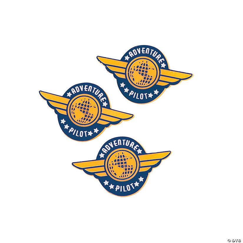 Awesome Adventure Pilot Wings Pins - Discontinued