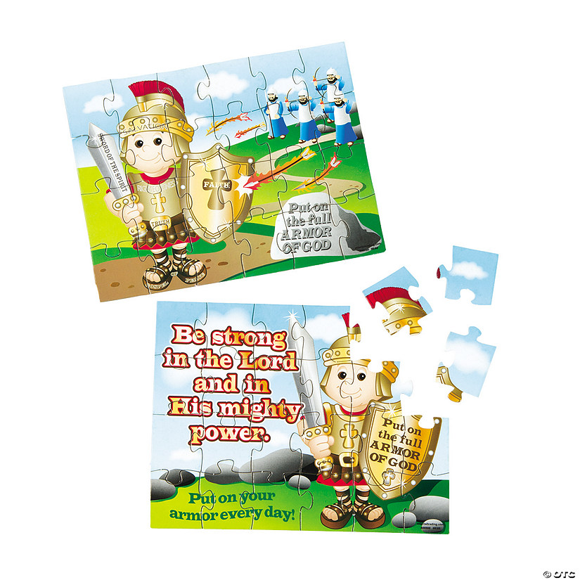 Armor of God Puzzles - Discontinued