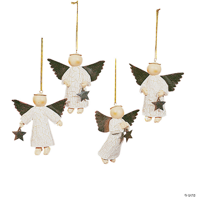 star gathering angel ornaments