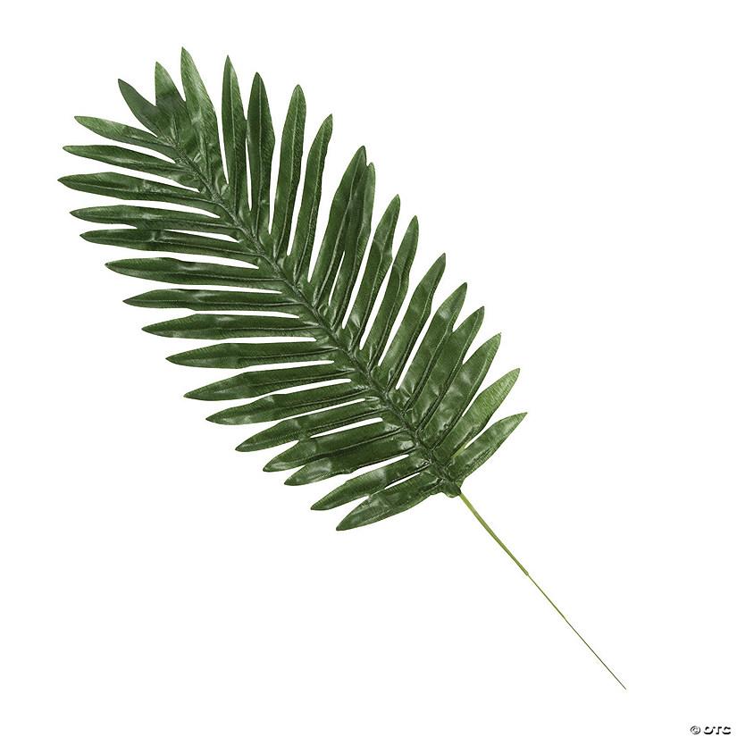 medium silk palm leaves
