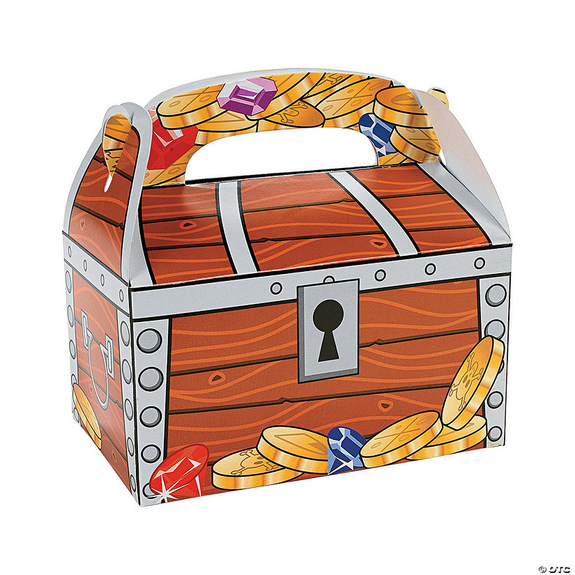 Treasure Chest Favor Boxes Oriental Trading