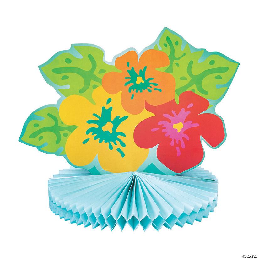 Bright Hibiscus Centerpiece