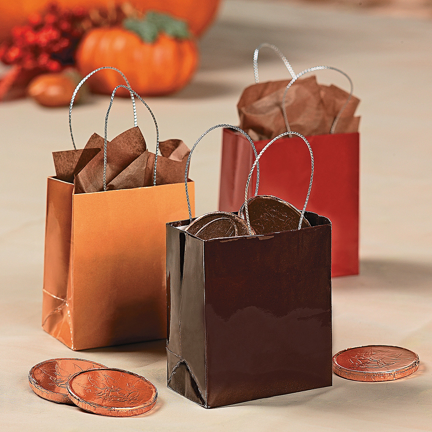 oriental trading crafts fall wedding mini gift bags trading discontinued 2578
