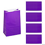Mini Purple Treat Bags