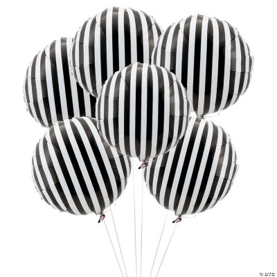 this review is fromblack striped mylar balloons