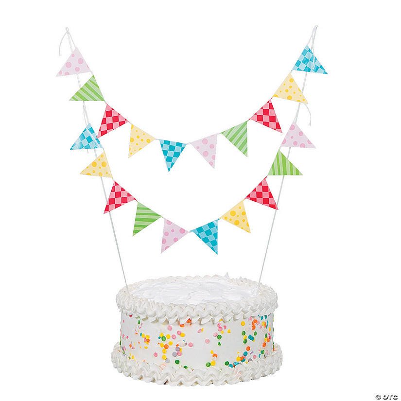 Fine 1St Birthday Circus Cake Bunting Oriental Trading Personalised Birthday Cards Paralily Jamesorg