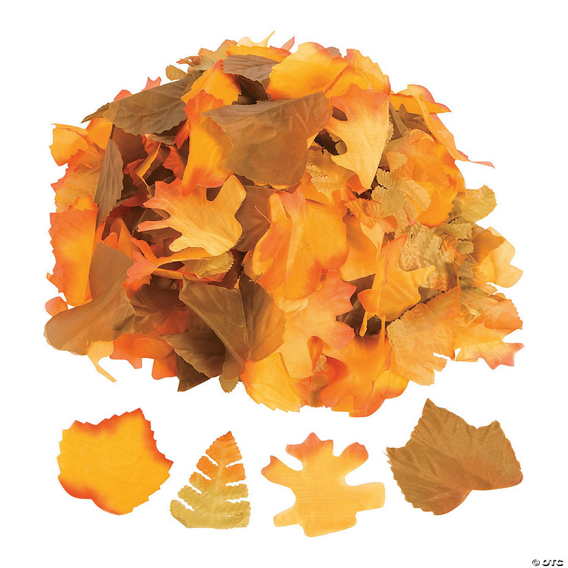 Decorative Fall Leaves Oriental Trading