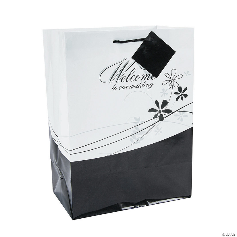 Welcome Wedding Gift Bags: Medium Welcome To Our Wedding Gift Bags
