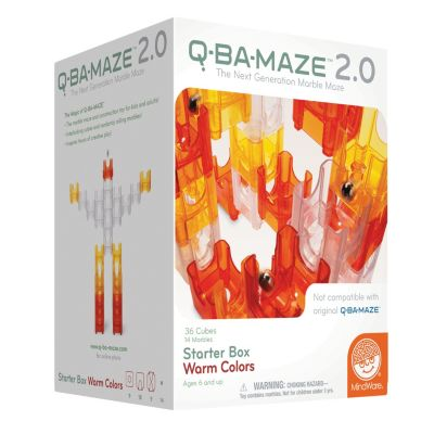 Q-BA-MAZE 2.0: Starter Box - Warm Colors